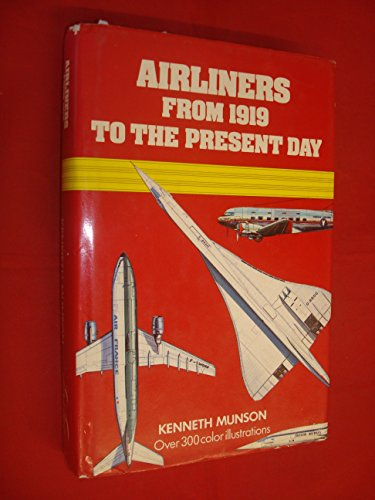9780671060145: Airliners from 1919 to the Present Day