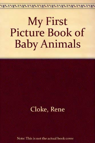 9780671067922: My First Picture Book of Baby Animals