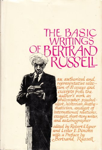 9780671068356: The Basic Writings of Bertrand Russell 1903-1959