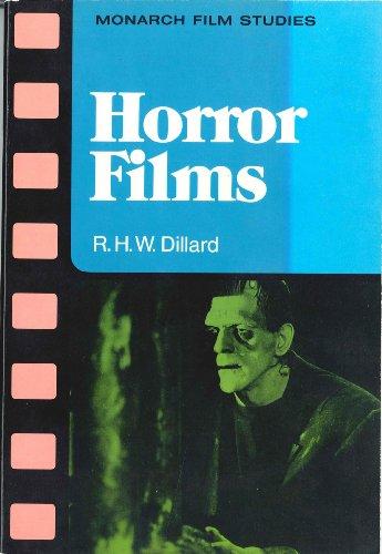 9780671081041: Horror films (Monarch film studies)