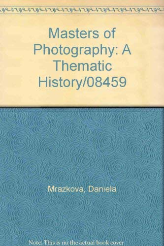 Masters of Photography: A Thematic History/08459: Mrazkova, Daniela
