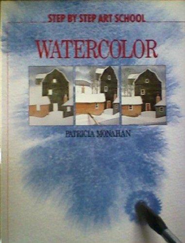 9780671089078: Watercolor (Step By Step Art School)
