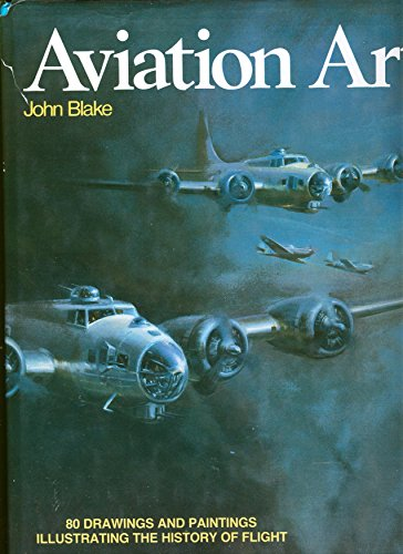 9780671092276: Aviation Art - 80 Drawings and Paintings Illustrating the History of Flight