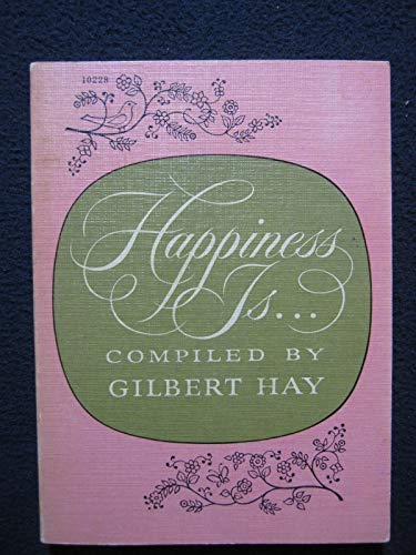 9780671102289: Happiness is...