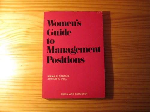 9780671187866: Women's Guide to Management Positions