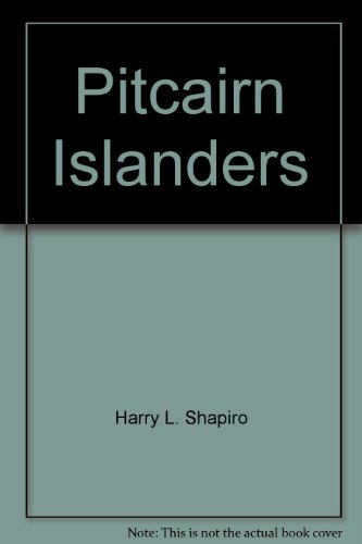 9780671200671: Pitcairn Islanders