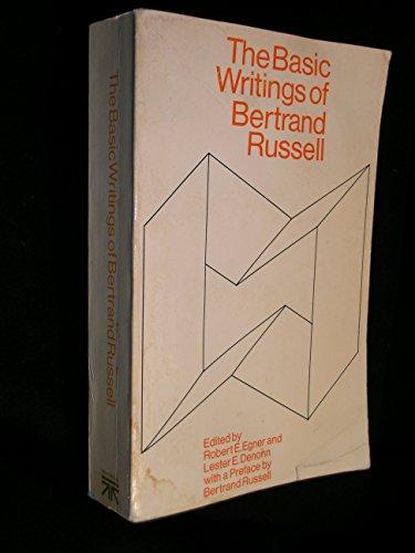 9780671201548: Basic Writings of Bertrand Russell