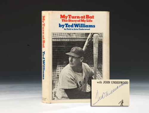 My Turn at Bat: The Story of My Life: Williams, Ted, and Underwood, John