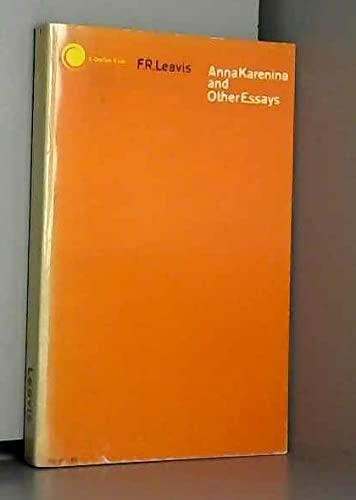9780671202491: Anna Karenina and Other Essays
