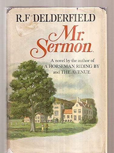 Mr. Sermon: DeLderfield, R. F.