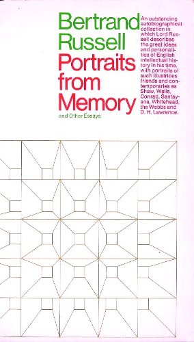 9780671203788: Portraits from Memory and Other Essays