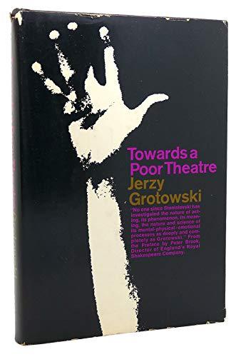 9780671203924: Towards Poor Theatre