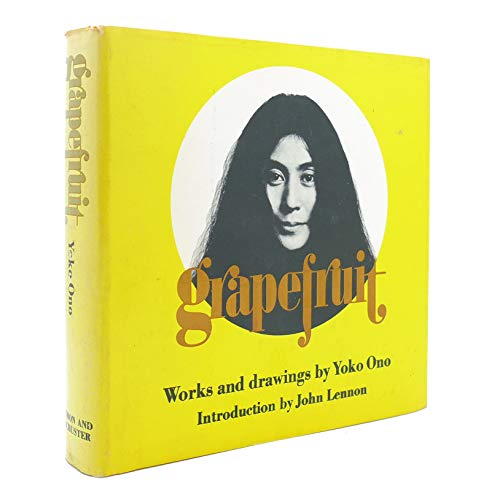 9780671203948: Grapefruit. A book of instructions. Introduction by John Lennon