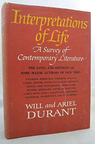9780671205690: Interpretations of Life: A Survey of Contemporary Literature: The Lives and Opinions of Some Major Authors of Our Time
