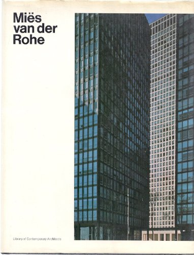 9780671206918: Title: Mies van der Rohe Library of Contemporary Architec