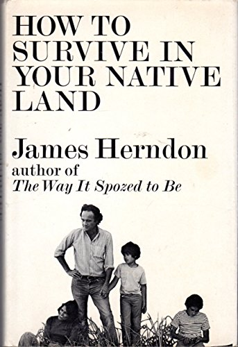 9780671208646: How to Survive in Your Native Land