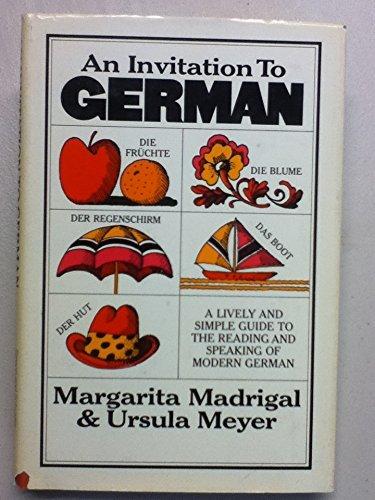 Inv to German: Madrigal & meyer