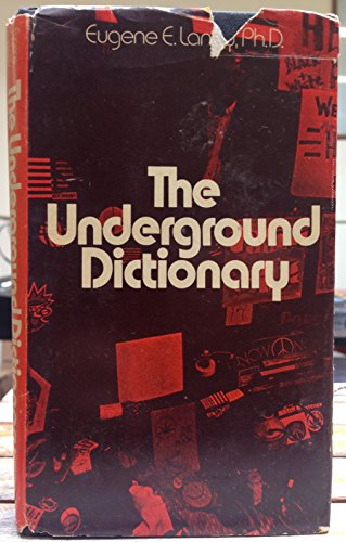 9780671210120: The Underground Dictionary