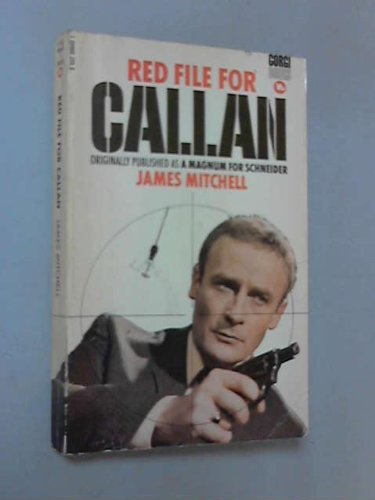 A red file for Callan (An Inner sanctum mystery): Mitchell, James