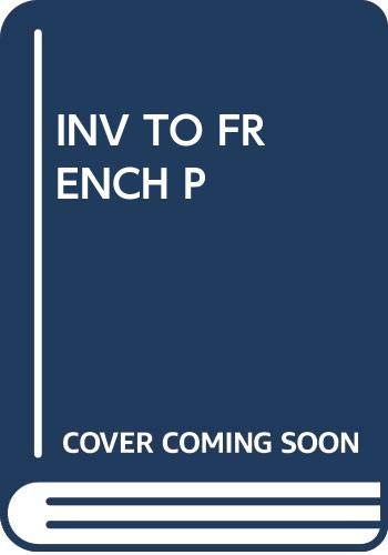 9780671210304: An Invitation to French