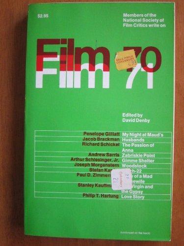 Film 70/71 P: critics, National film
