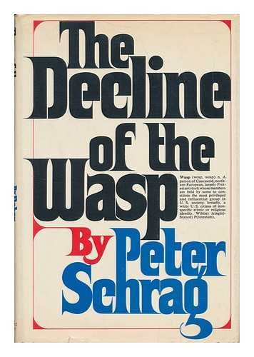 Daniel Boorstin's Copy of The Decline of the WASP