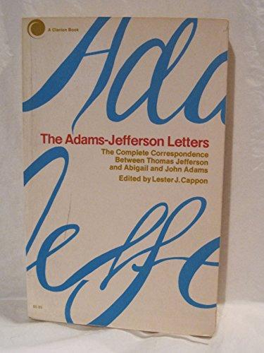 9780671210632: Adams-Jefferson Letters