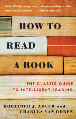 9780671212094: How to Read a Book: The Classic Guide to Intelligent Reading (A Touchstone book)