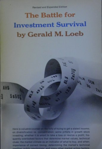 9780671213046: Battle for Investment Survival