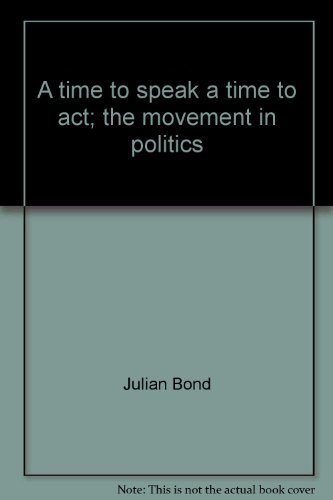 TIME TO SPEAK (067121344X) by Julian bond