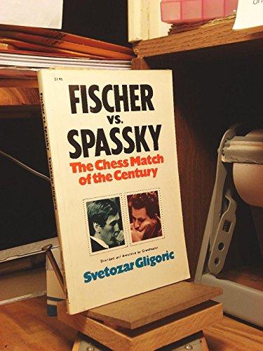 9780671213985: Fischer vs. Spassky: World Chess Championship Match, 1972