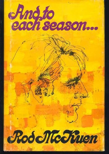 9780671214111: And to Each Season ...