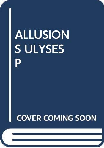 9780671214807: Allusions in Ulysses
