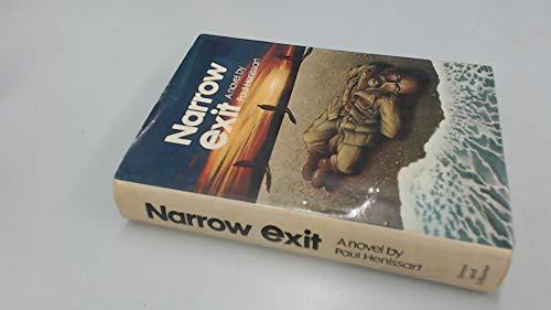 9780671215798: Narrow Exit
