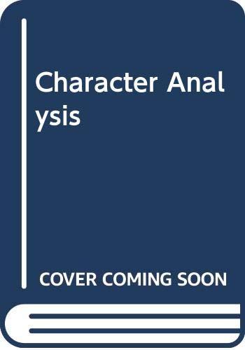 9780671217792: Character Analysis