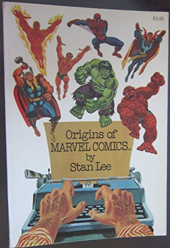 9780671218638: Origins of Marvel Comics