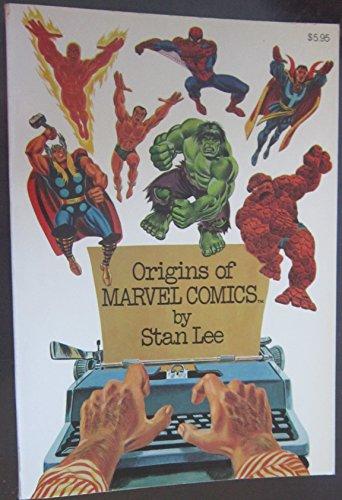 9780671218638: Origins of Marvel Comics