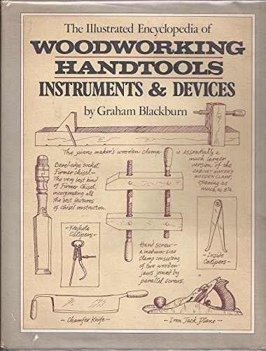 9780671218744: The Illustrated Encyclopedia of Woodworking Handtools, Instruments & Devices