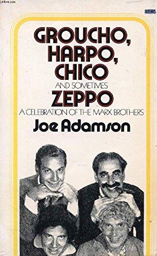 9780671219109: Groucho, Harpo, Chico and sometimes Zeppo