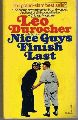 9780671220570: Nice Guys Finish Last First edition by Leo durocher (1975) Hardcover