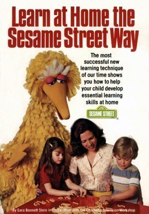 Learn at Home the Sesame Street Way (0671224824) by Stein, Sara Bonnett; Childrens Television Workshop