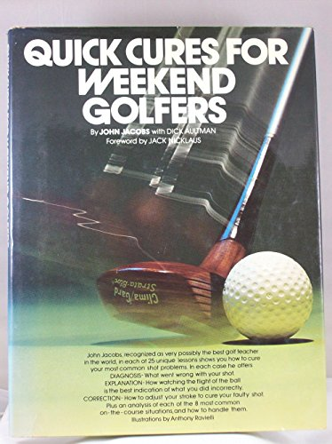 9780671226589: Quick Cures for Weekend Golfers