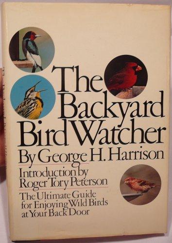 9780671226640: The Backyard Bird Watcher