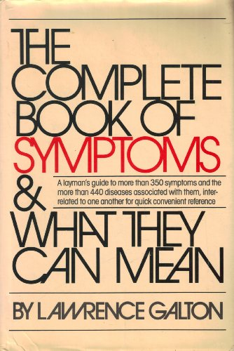 9780671226916: The Complete Book of Symptoms and What They Can Mean