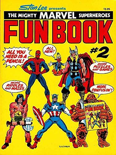 9780671227586: Stan Lee Presents The Mighty Marvel Superheroes Fun Book, #2