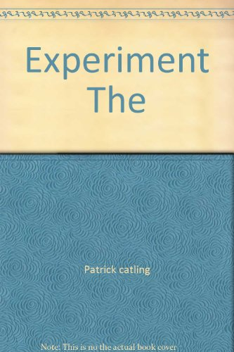 9780671237318: Experiment The