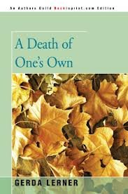 9780671240080: A Death of One's Own