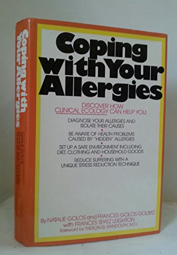 9780671240783: Coping with your allergies