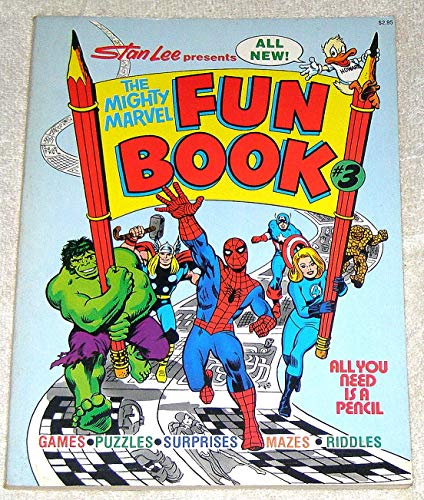 9780671242237: The Mighty Marvel Superheroes Fun Book, No. 3