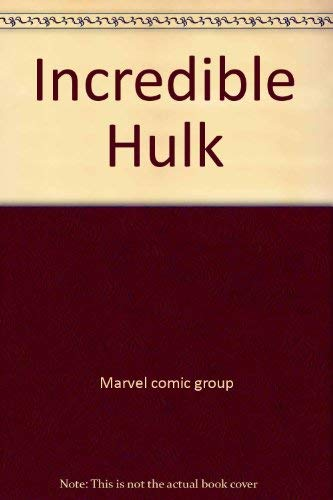 9780671242695: Incredible Hulk